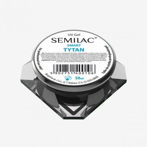 SEMILAC UV Gel Smart Tytan 50ml żel przeźroczysty
