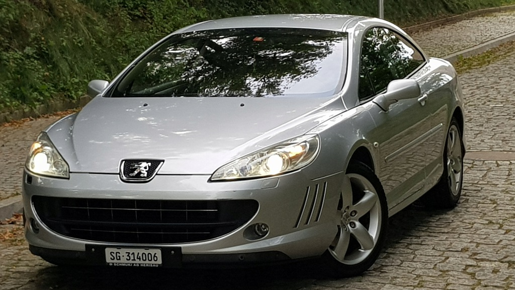 Peugeot 407 Coupe 3 0v6 211km 6 Bieg Ze Szwajcarii 9651883683 Oficjalne Archiwum Allegro