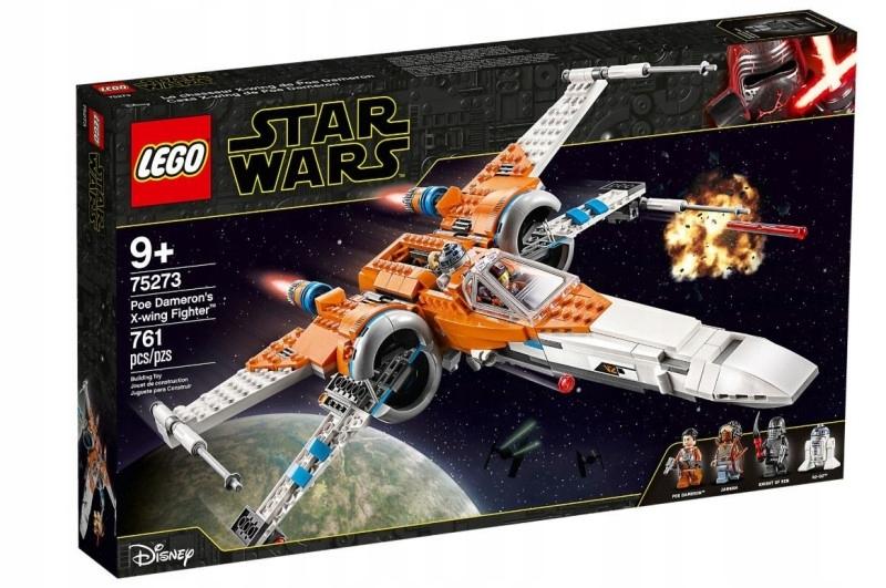 LEGO Klocki Star Wars Myśliwiec XWing Poe Damerona
