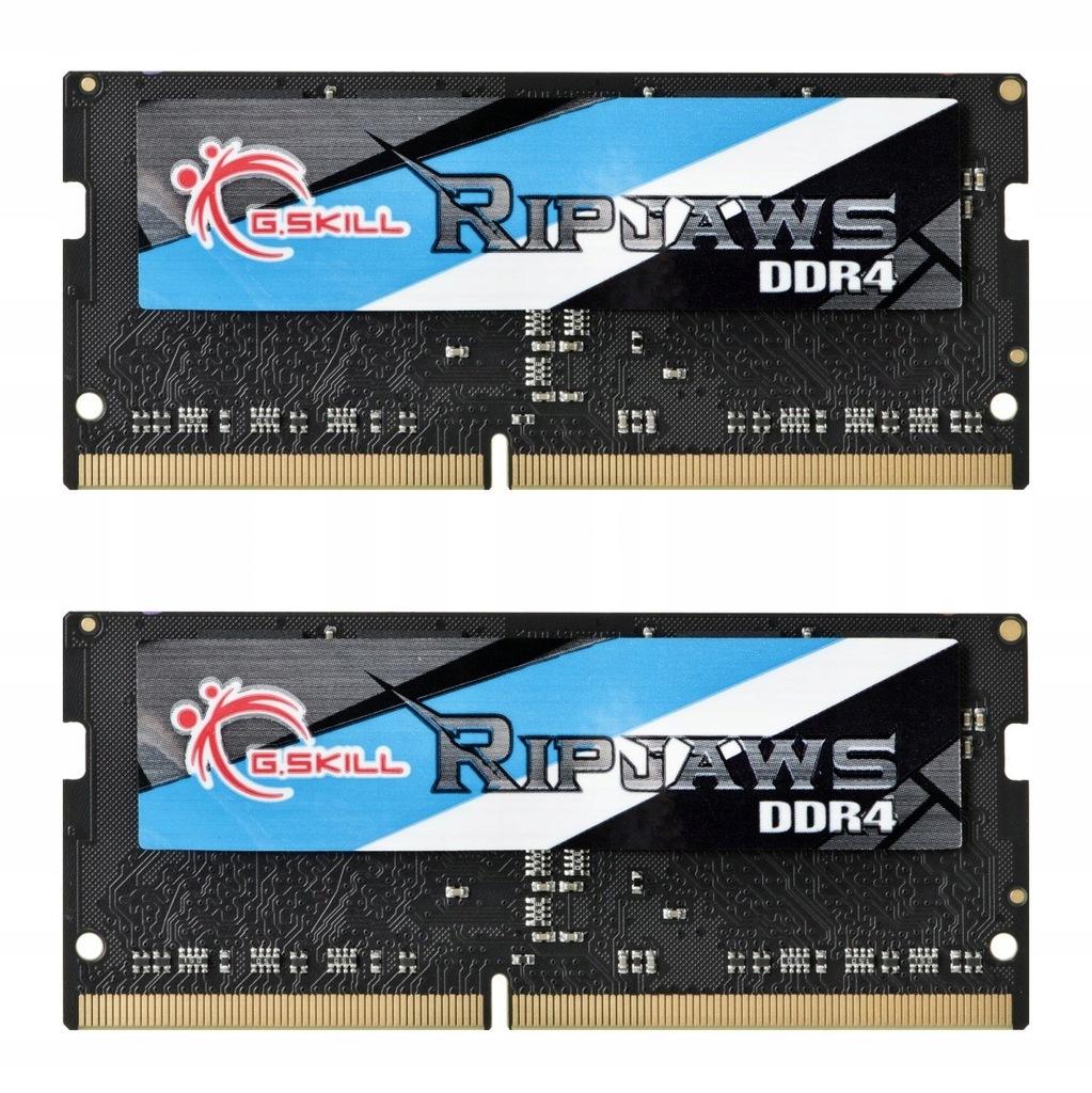 Zestaw pamięci G.SKILL Ripjaws DDR4 SO-DIMM 2x8GB