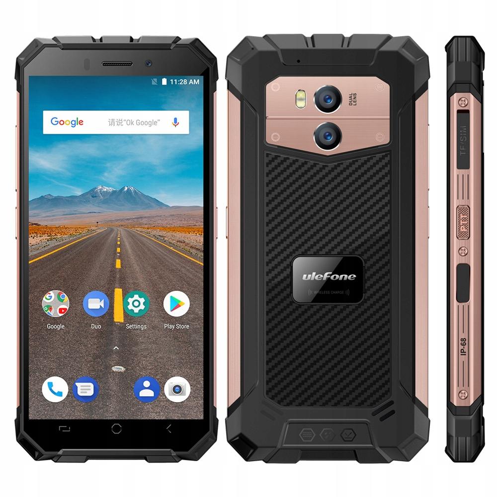 Telefon Ulefone Armor X IP68 2/16GB A8.1 NFC Złoty