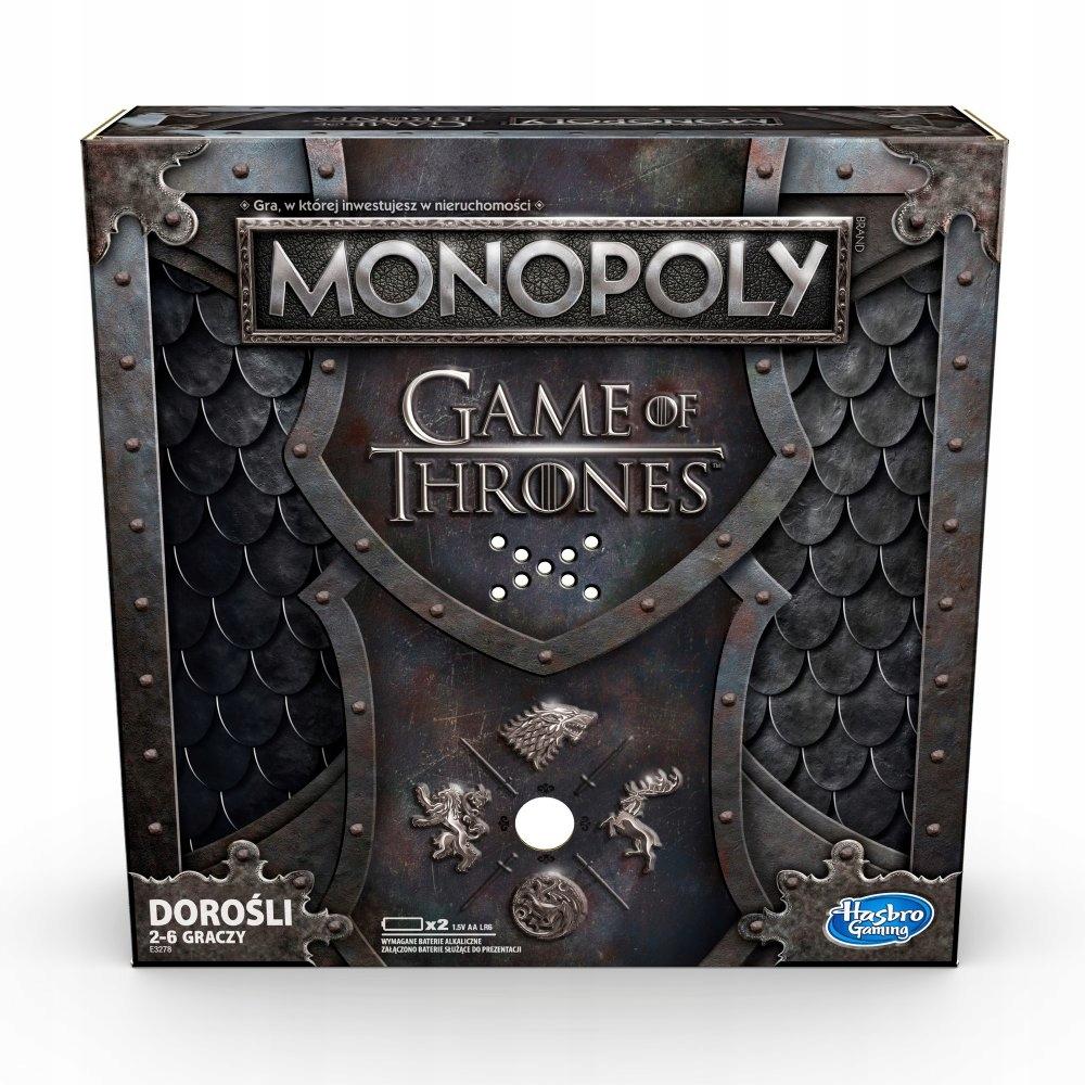 Hasbro Monopoly Gra O Tron 2019 Wersj Polska E3278 8129802734