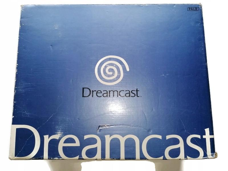 KONSOLA SEGA DREAMCAST BOX PS1 PSX
