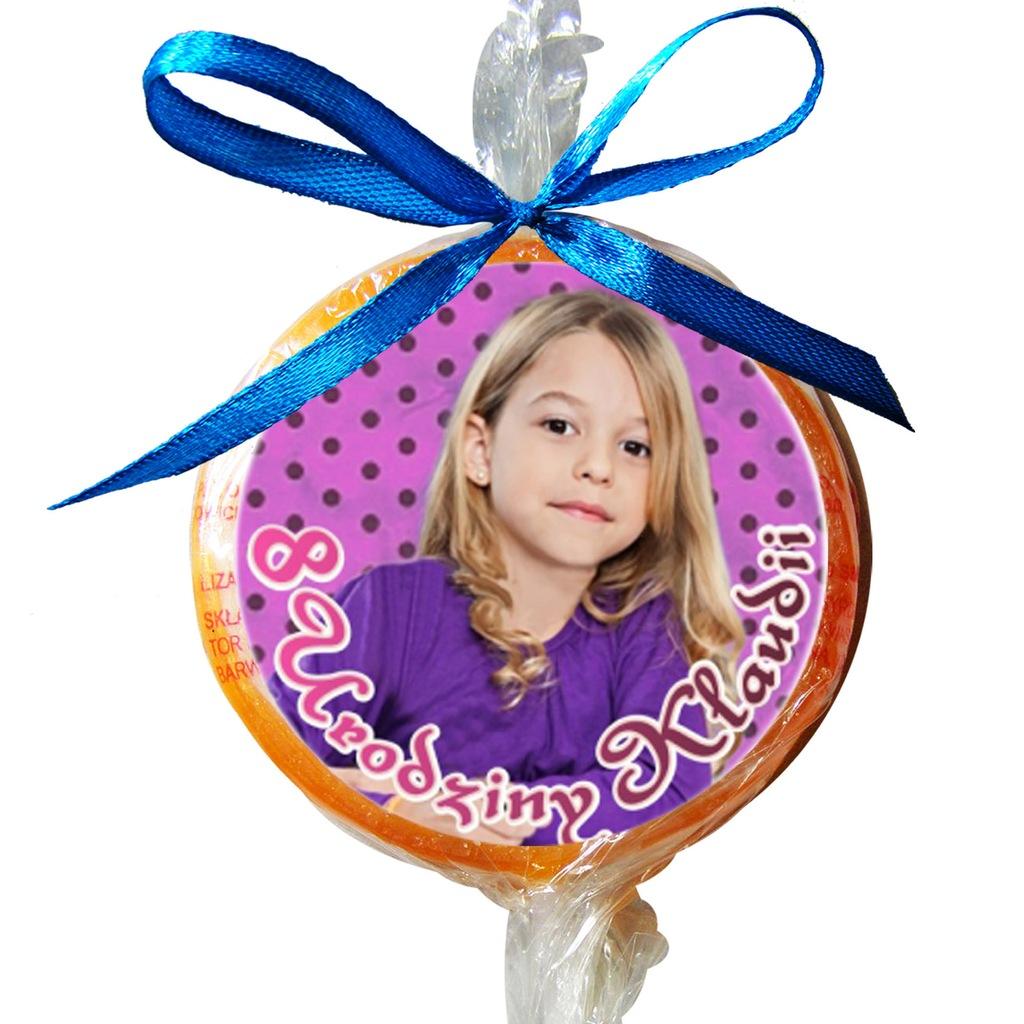 Lizaki ze zdjęciem urodziny 18nastka roczek 100szt