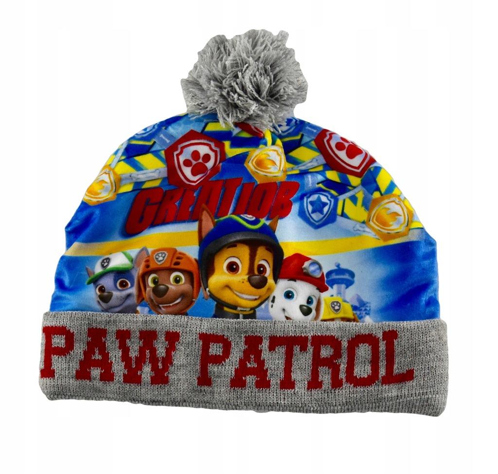 Ciepła czapka polar Psi Patrol 52 Licencja