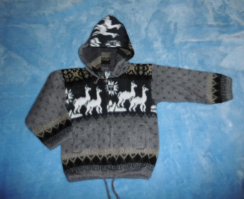 Sweter chłopiec roz 92 cm wełna