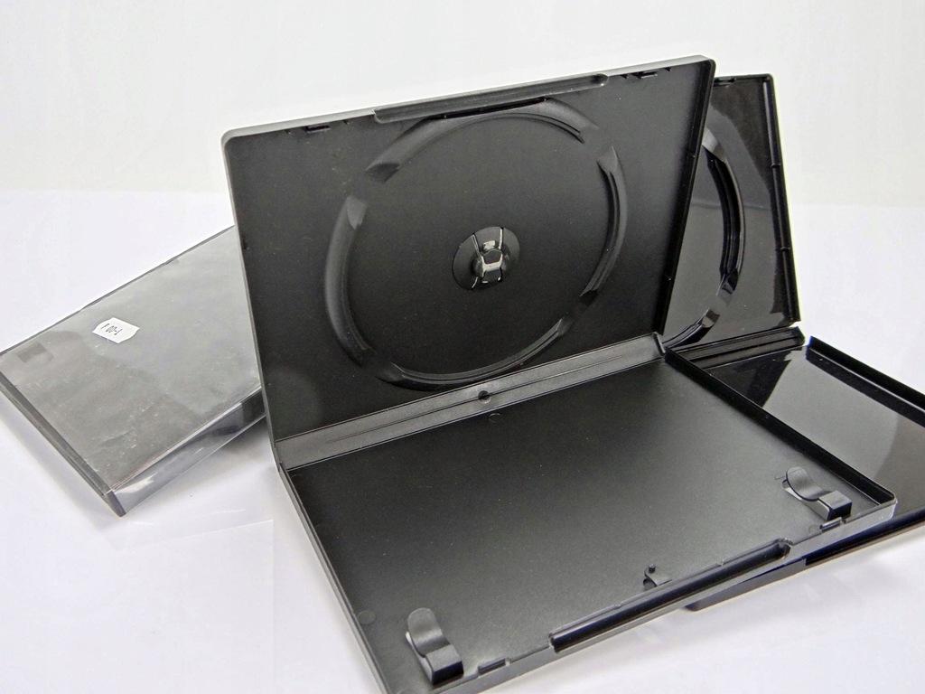 Pudełka na płyty DVD różne kolory KOMPLET (977)