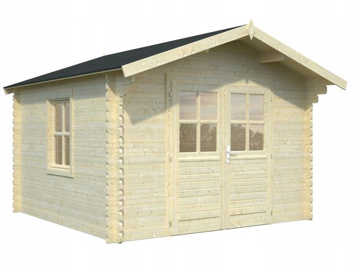 Drewniany domek narzędziowy - EKO 104 320x320