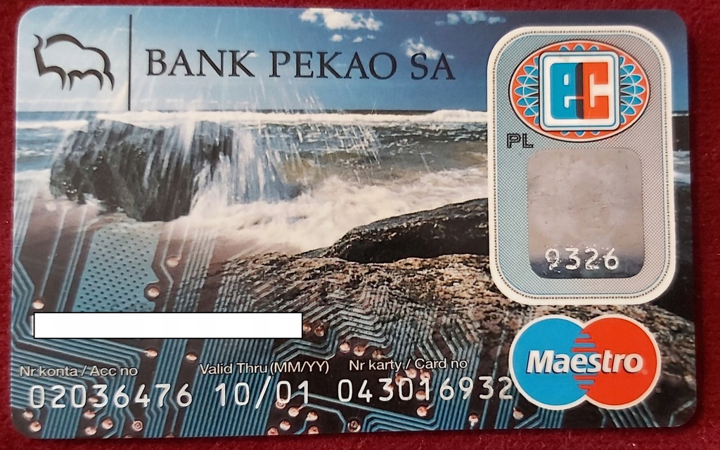 Karta Maestro BANK PEKAO S.A. - 05