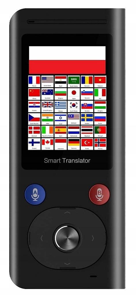 Smart Translator Tłumacz elektroniczny 40 języków