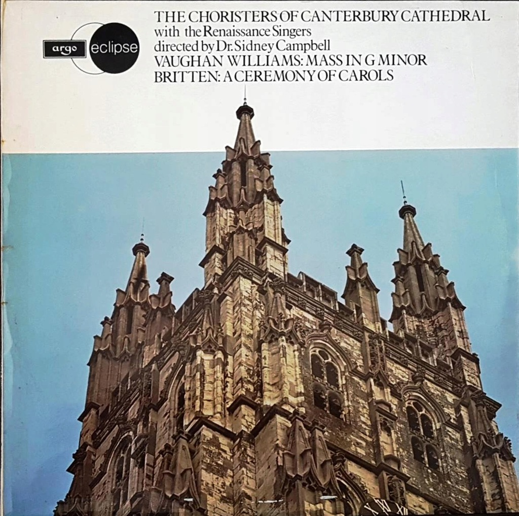 Williams - Mass in G Minor, Britten - A Ceremony