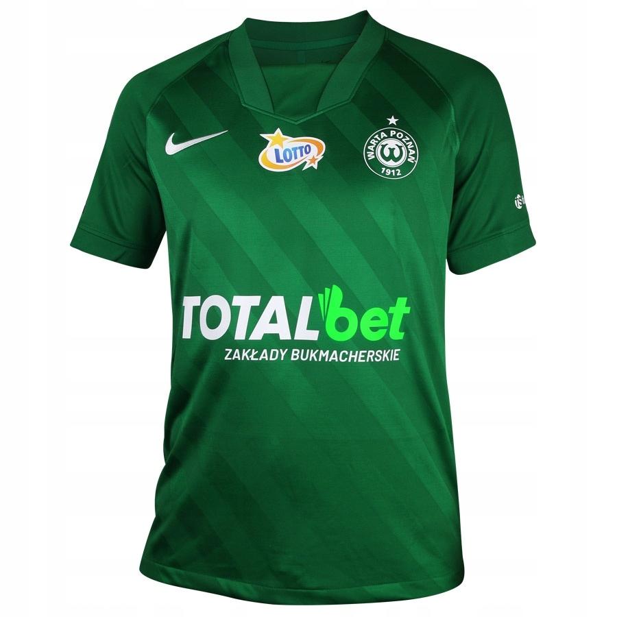 Koszulka meczowa Warta Poznań zielona S694554 S zi
