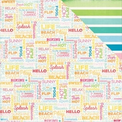 Papier 30x30 - Sunshine Beach - ILS - Echo Park
