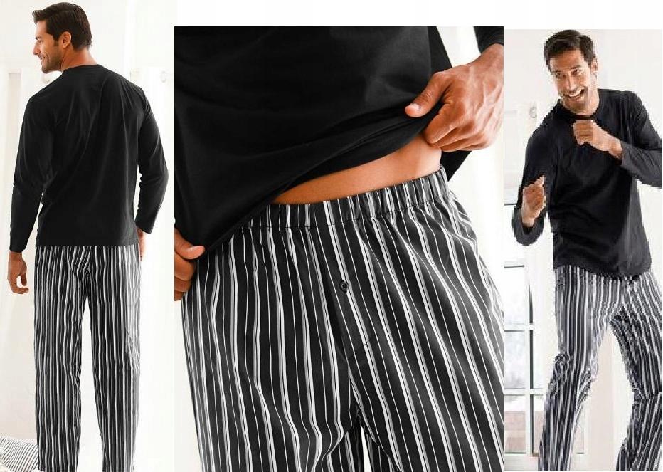 BPC Męska Piżama 60/62 Bluzka+Długie Spodnie