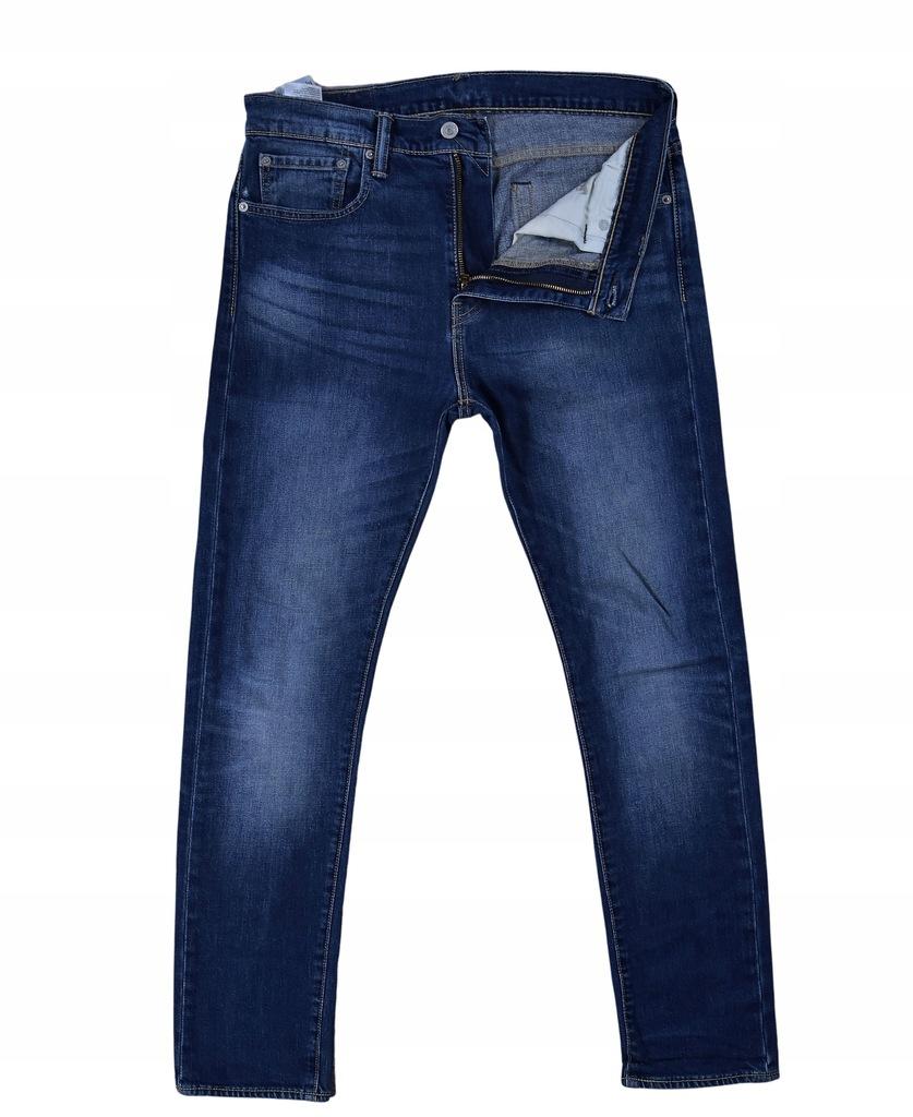 LEVIS 510 Męskie Spodnie Jeansowe Jeansy W 32 L 32