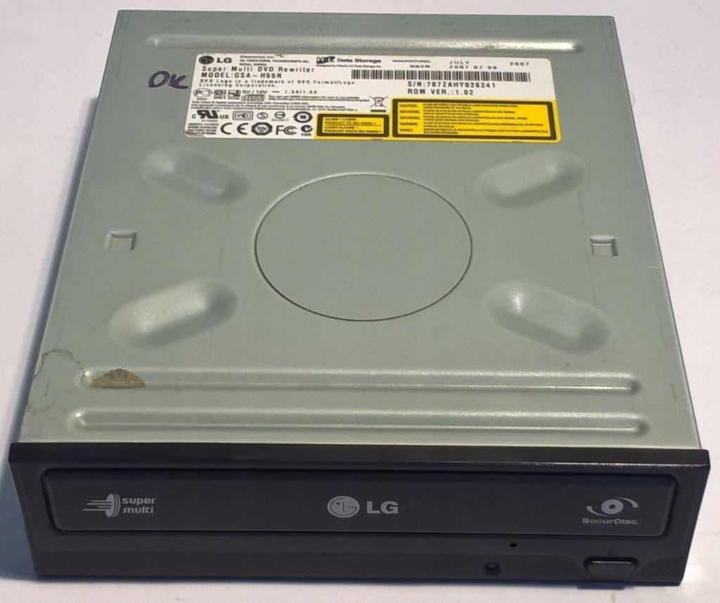 NAGRYWARKA DVDRW CDRW / LG HL GSA-H55N / IDE ATA
