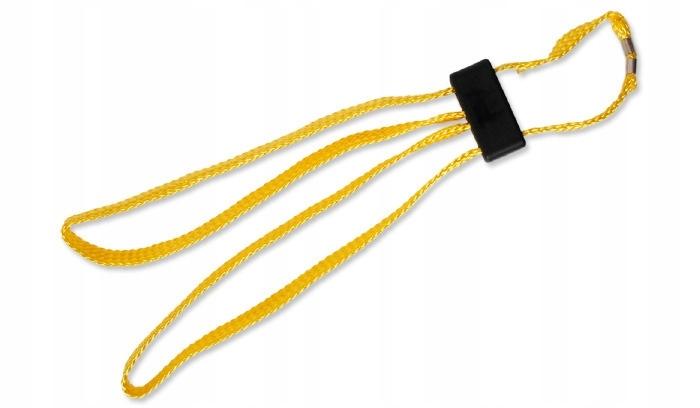 Kajdanki jednorazowe ESP żółte materiałowe