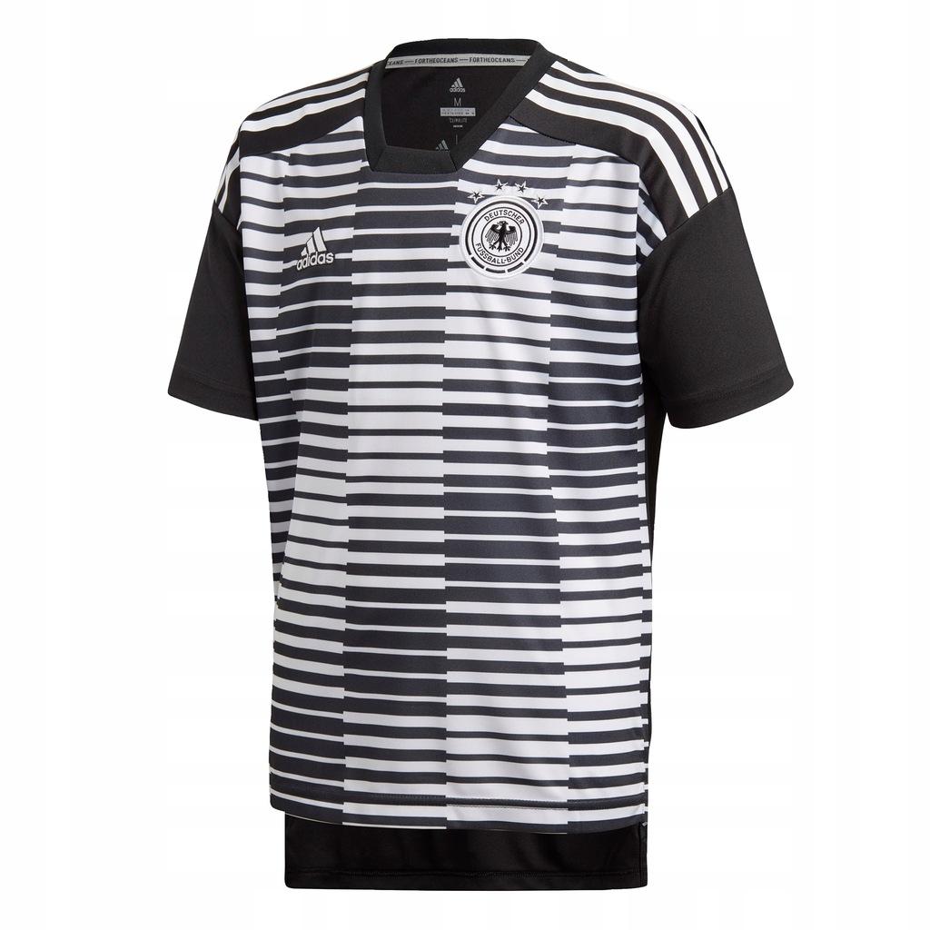 T-Shirt dziecięcy Germany Pre-Match Jersey Czerń 1