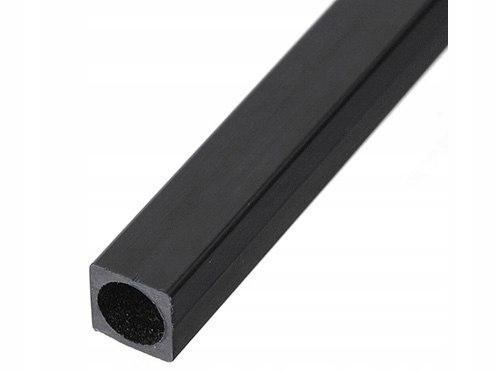 Profil węglowy kwadratowy 6,0/6,0 x 1000 mm, otwór