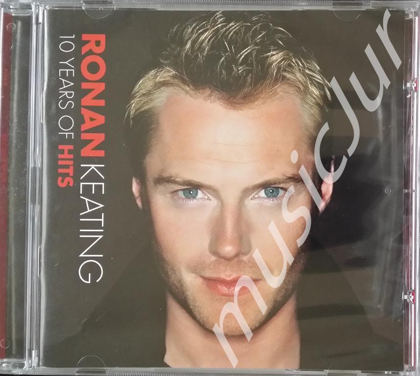 Ronan Keating 10 Years Of Hits UK CD Irl