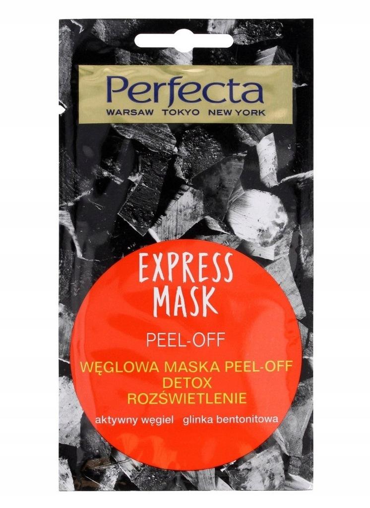 Perfecta Express Mask Węglowa Maska Peel-Off Detox