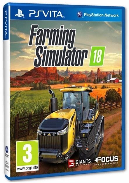 FARMING SIMULATOR 18 PL PS VITA NOWA WAWA