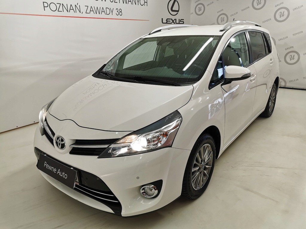 Toyota Verso 1.8 Benz. Premium 147KM. 1 Właścici