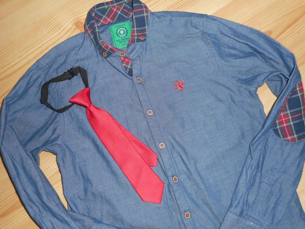 next koszula 152 + krawat