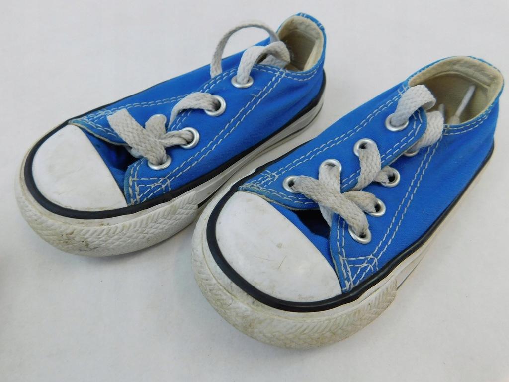 2304g110 CONVERSE buty TRAMPKI dziecięce 21