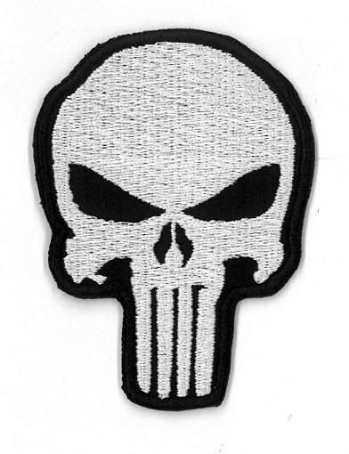 Punisher naszywka WOŚP przyszyj lub przyprasuj