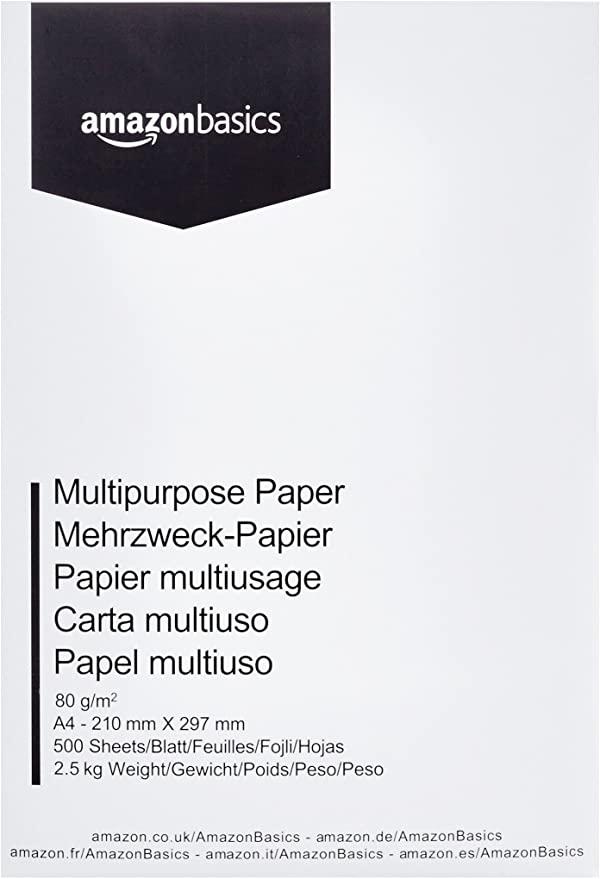 L8323 AMAZON BASICS kartki papieru A4 500szt.