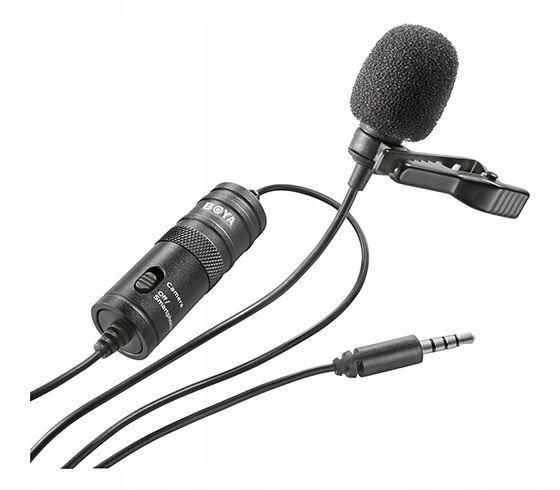 BOYA BY-M1 - Uniwersalny mikrofon krawatowy na TRR