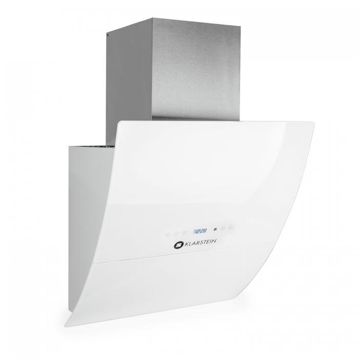 Klarstein RGL60WH Okap skośny pionowy 60cm Biały