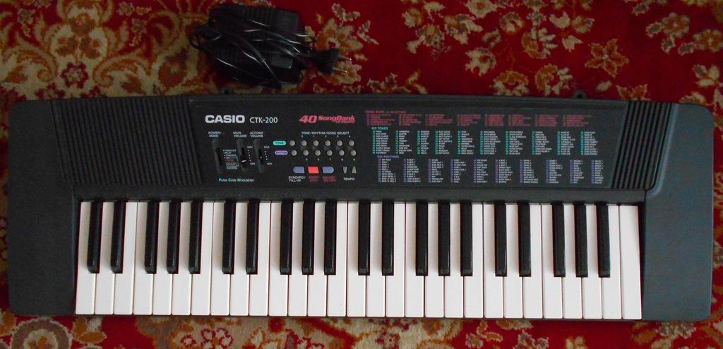Keybord Casio CTK 200