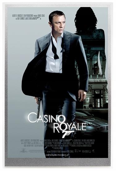 Casino Royale 5 gramów Srebra 2020 (Srebrna Folia)