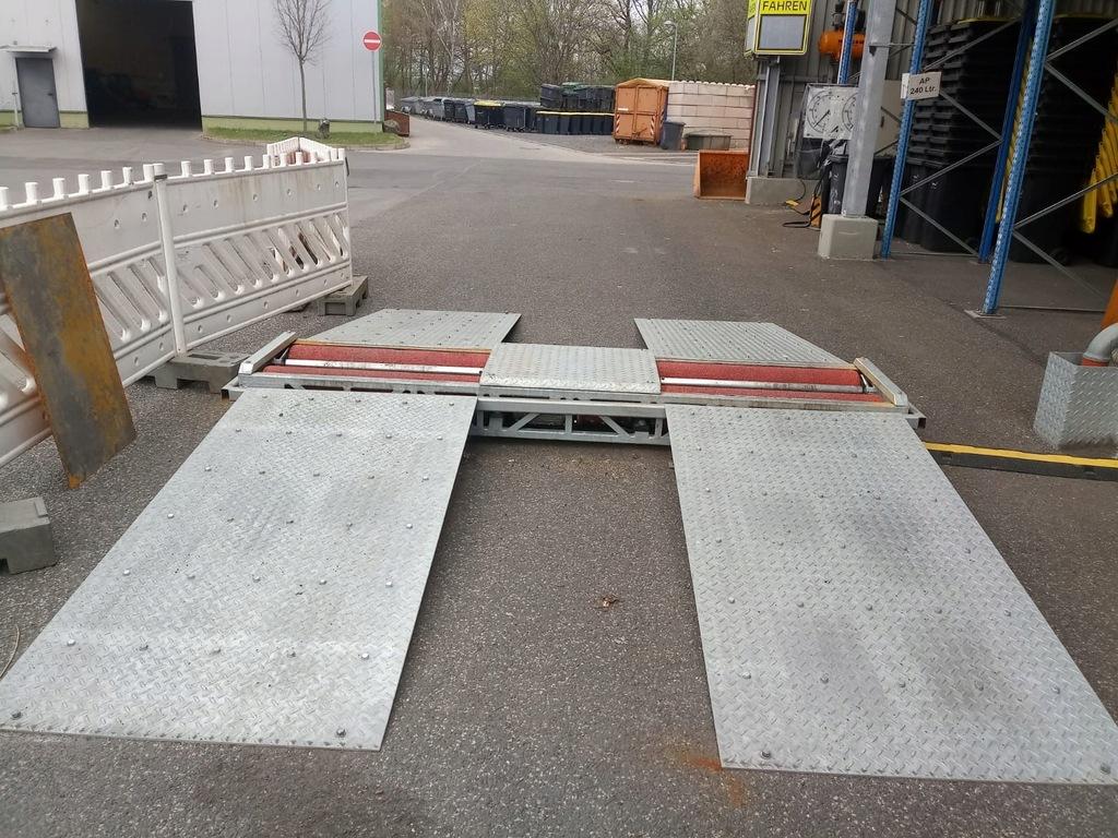 Rolki hamulcowe ciężarowe LKW stacja kontroli