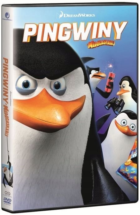 Pingwiny z Madagaskaru (DVD)