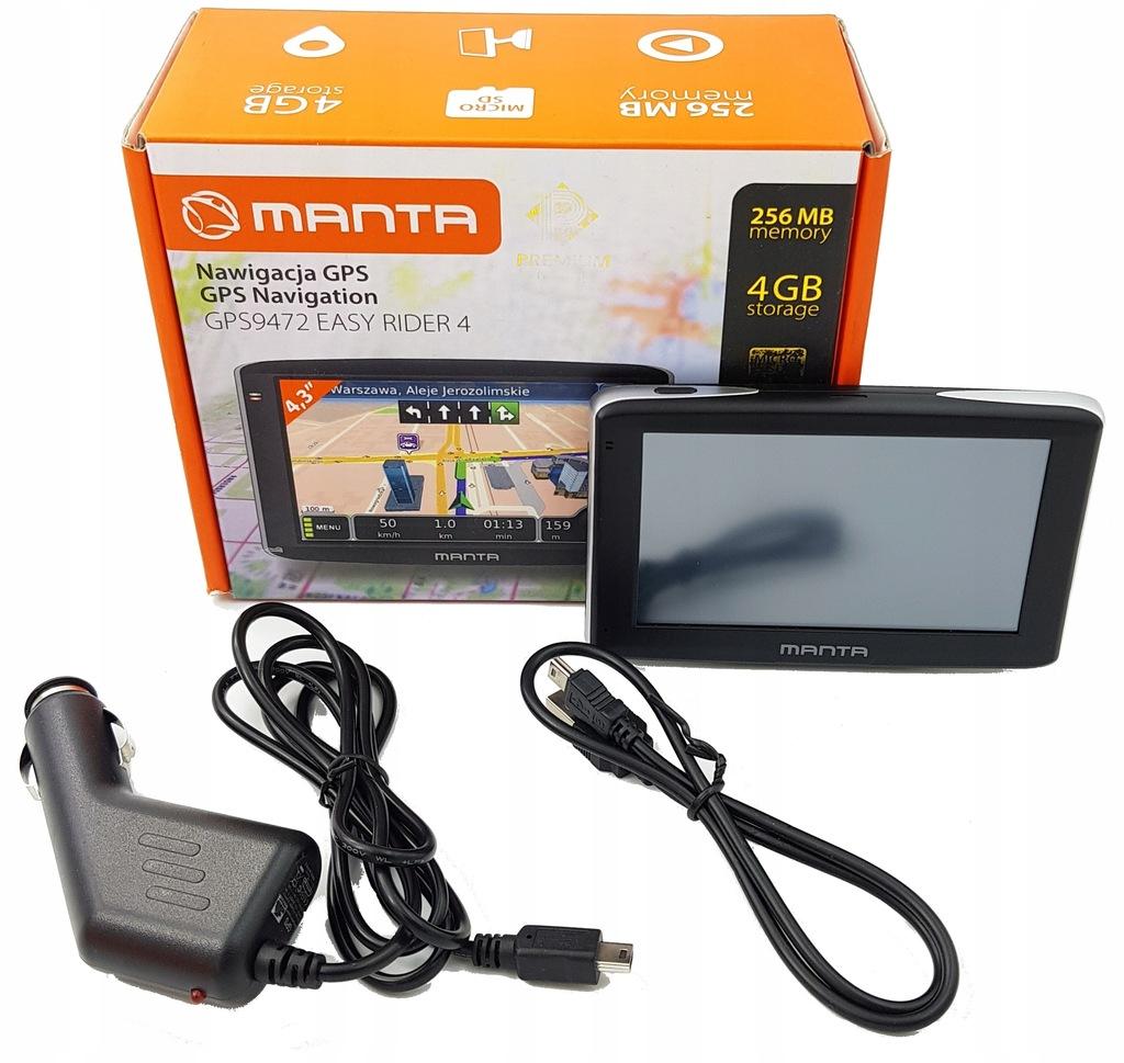 Nawigacja samochodowa Manta Easy Rider 4 GPS9472