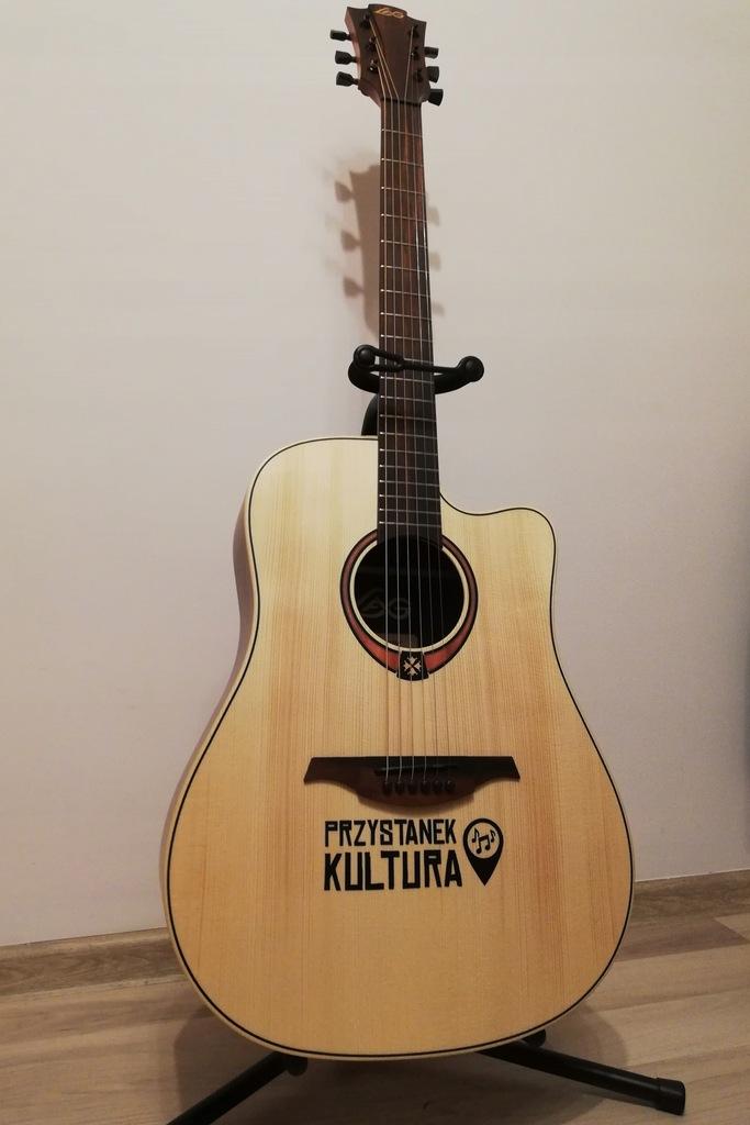 Gitara akustyczna LAG T70DC od Przystanku Kultura