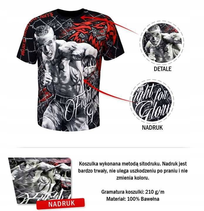 Koszulka MMA Fight for Glory Hard Knox XL