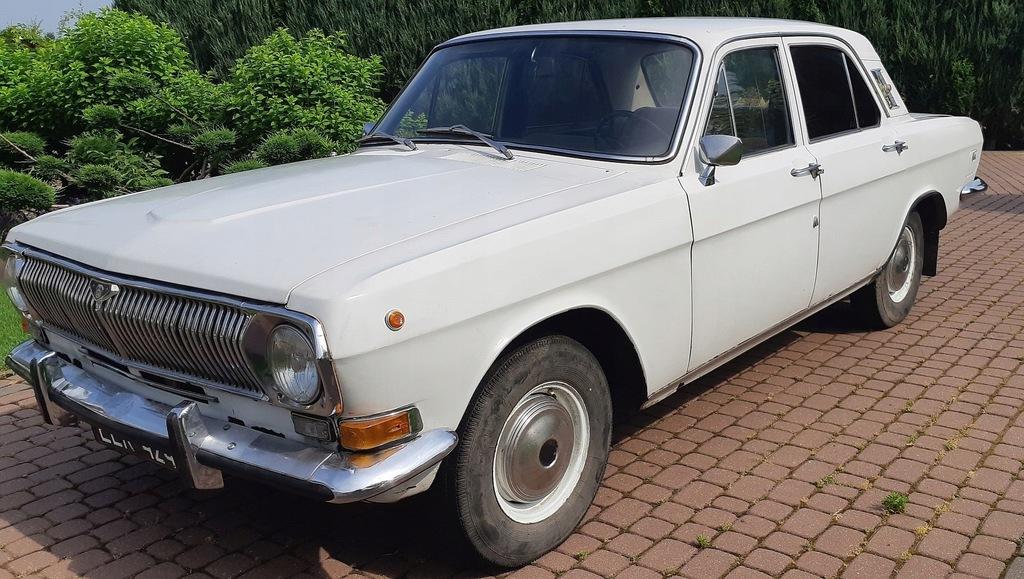 Biała Wołga GAZ-24 , rocznik 1982