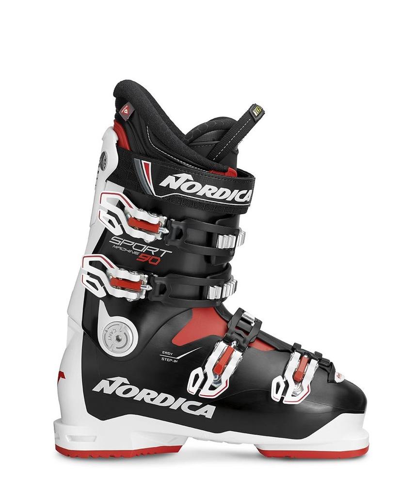 Buty narciarskie Nordica Sportmachine 90 Czarny 26