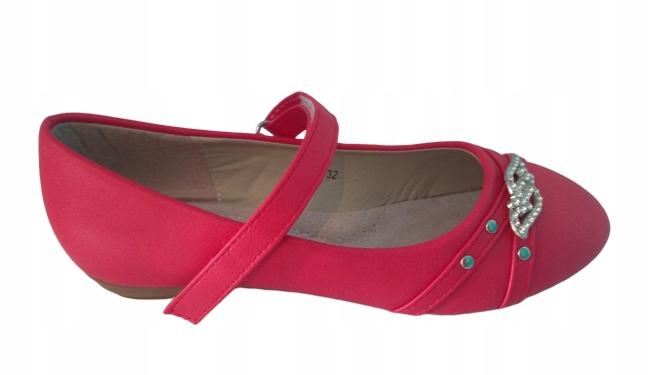 Badoxx baleriny dziewczęce czerwone r. 32