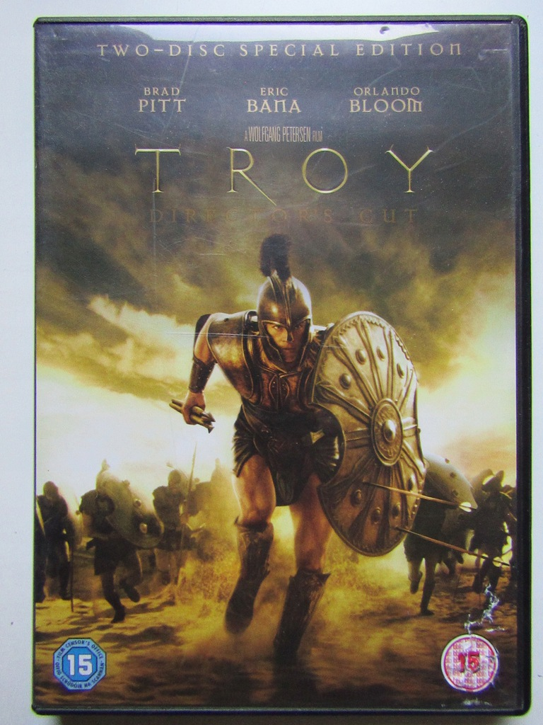 DVD PITT BANA BLOOM - TROJA