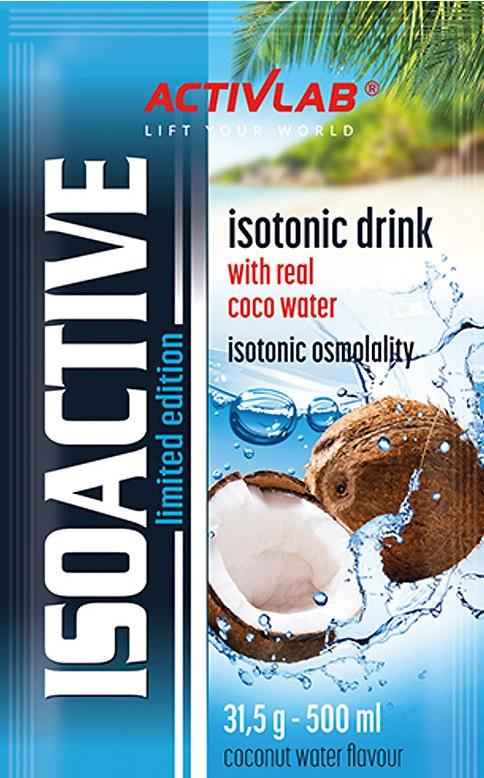 Activlab IsoActive Coco Water 31,5G Tanio!