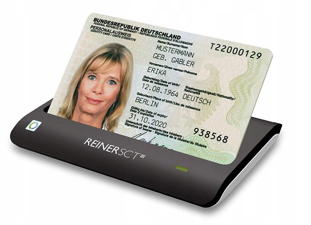 7CC70 REINER SCT czytnik kart dowódu osobistego