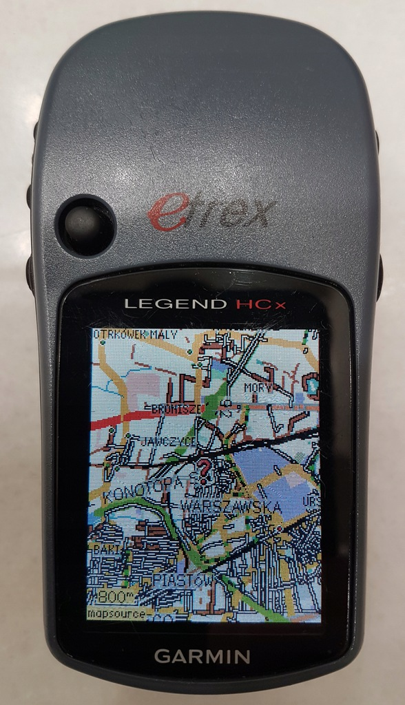 ODBIORNIK GPS GARMIN eTREX LEGEND HCx WARSZAWA!!!!