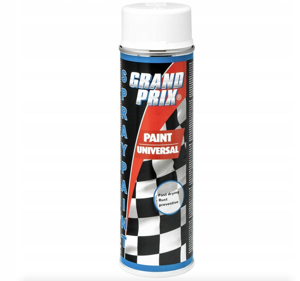 Lakier samochodowy biały połysk GRAND PRIX 500ml