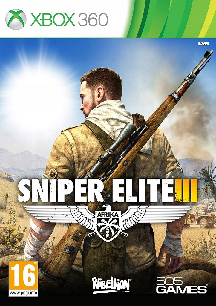 Xbox 360 Sniper Elite 3 Lodz Zachodnia 21 Games4us 9543696300 Oficjalne Archiwum Allegro