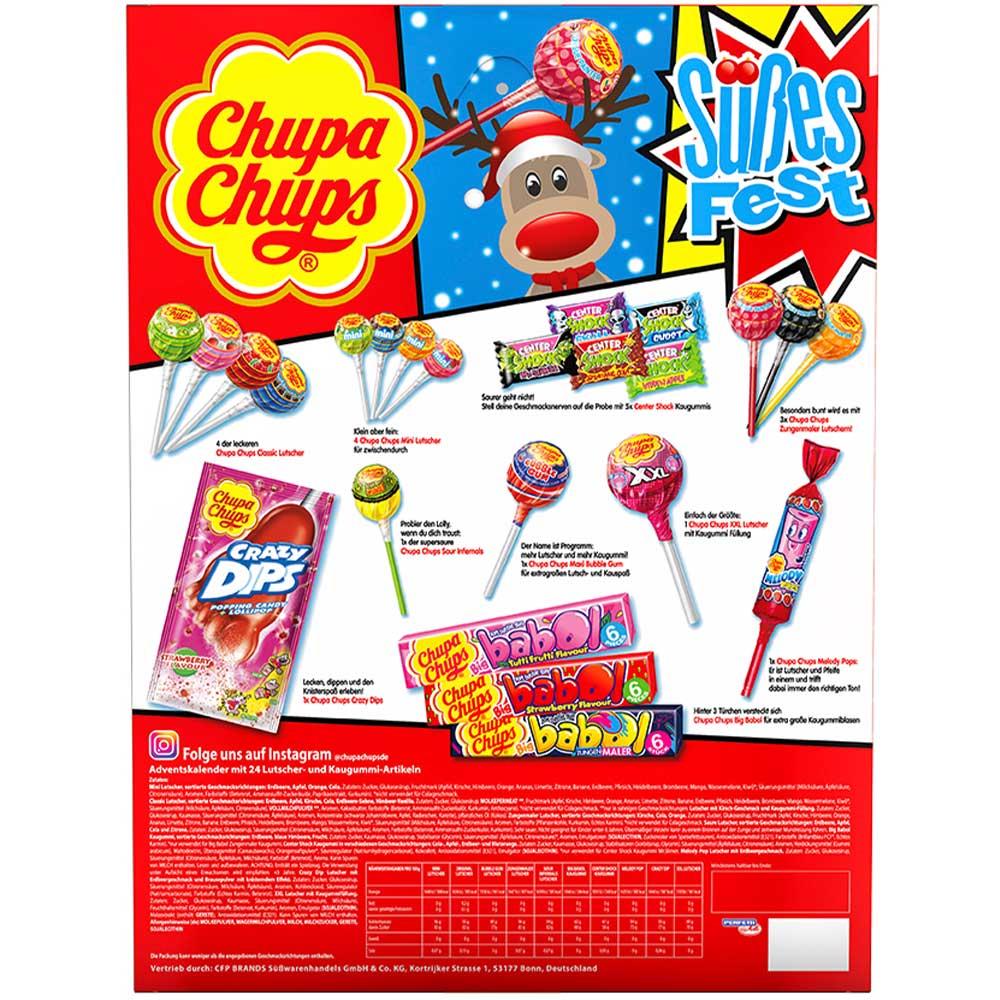 Chupa Chups Kalendarz Adwentowy Z Niemiec 8656940006 Oficjalne Archiwum Allegro